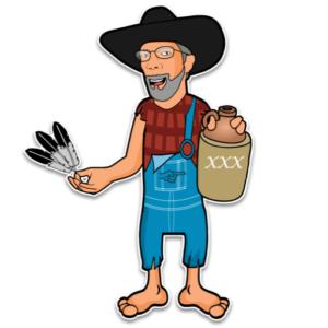 The Hillbilly Shaman - Logo Image