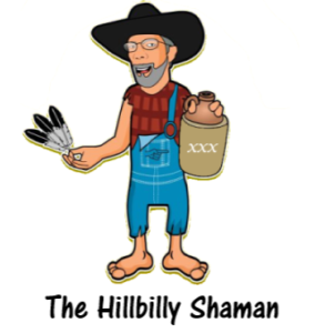 The Hillbilly Shaman Retina Logo