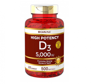 Top Rated Vitamin D Supplements - Carlyle Vitamin D3 Image
