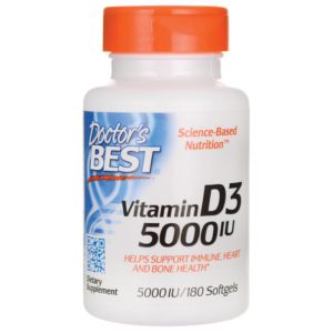 Top Rated Vitamin D Supplements - Doctors Best Vitamin D3 Image
