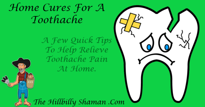 Home Cures For A Toothache - Featured Image