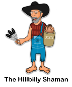 The Hillbilly Shaman - Logo Image