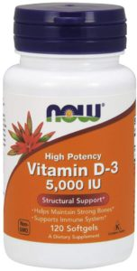 Top Rated Vitamin D Supplements - Now Brand Vitamin D3 Image